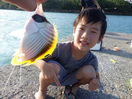 奥武島の堤防で (14)