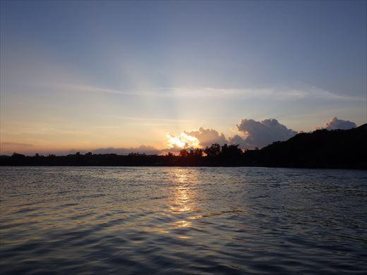 奥武島の堤防で (21)