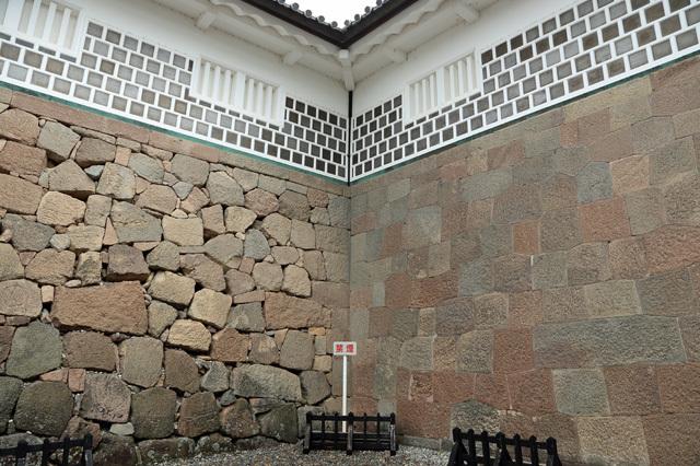 金沢城石川門の石垣