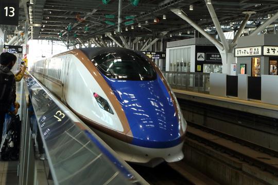 かがやき503号@富山駅