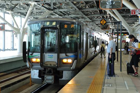 あいの風とやま鉄道@富山駅