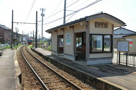 万葉線新町口駅