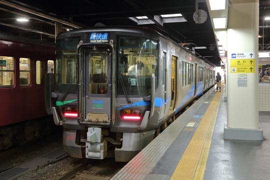 521系@金沢駅