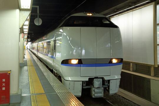 サンダーバード12号@金沢駅