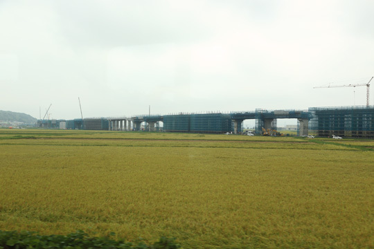 北陸新幹線工事中