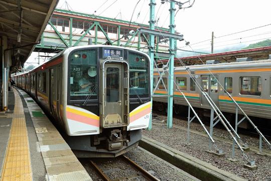 E129系@水上駅