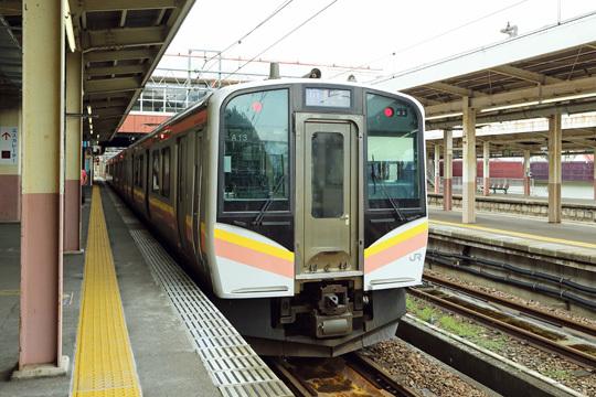 E129系@越後湯沢駅