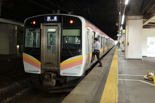 E129系@長岡駅