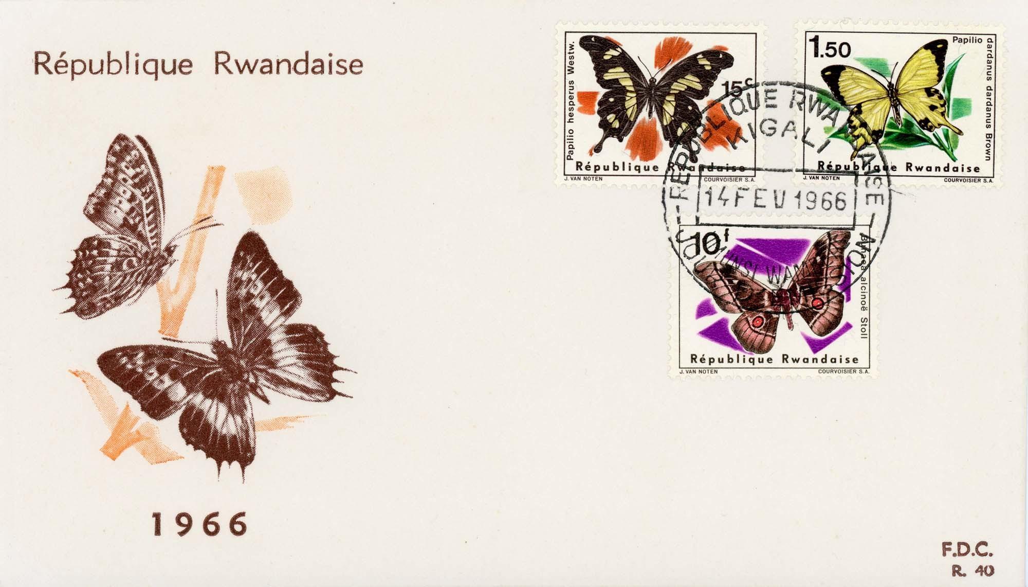 Rwanda:1966FDC-1