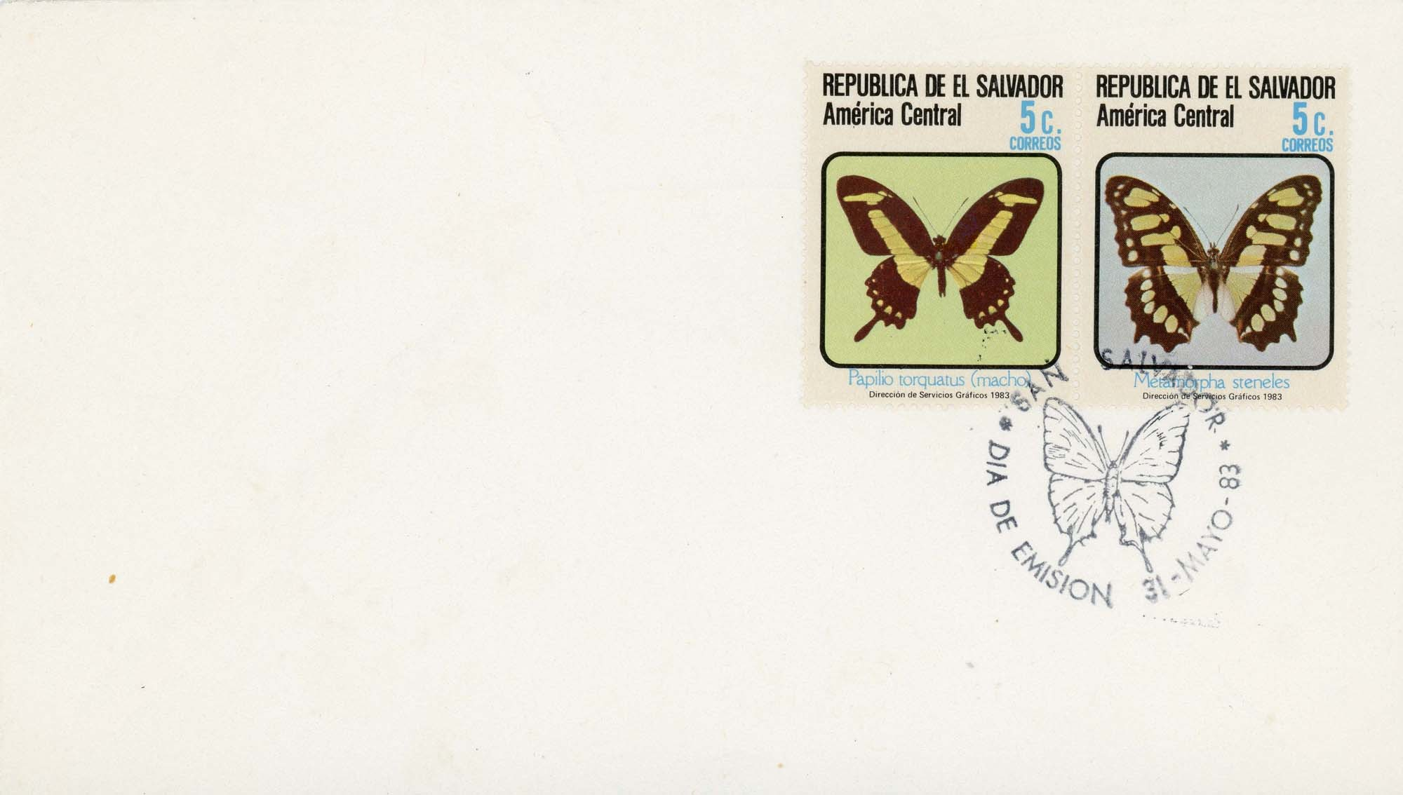 El Salvador:1983FDC-1