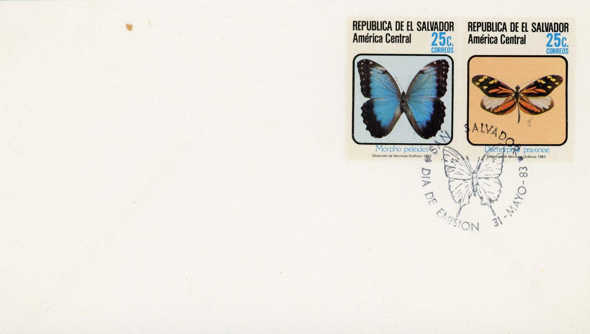 El Salvador:1983FDC-4