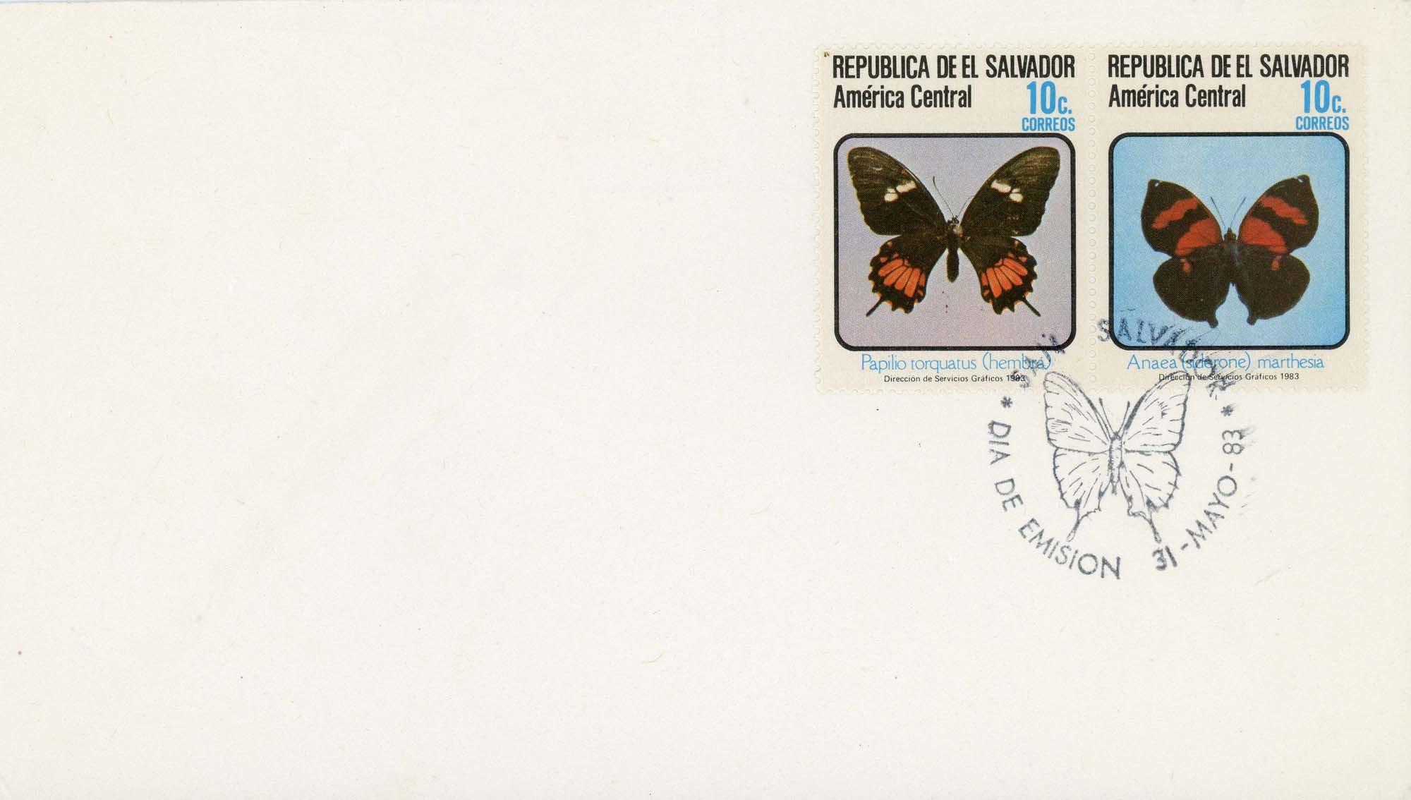 El Salvador:1983FDC-2