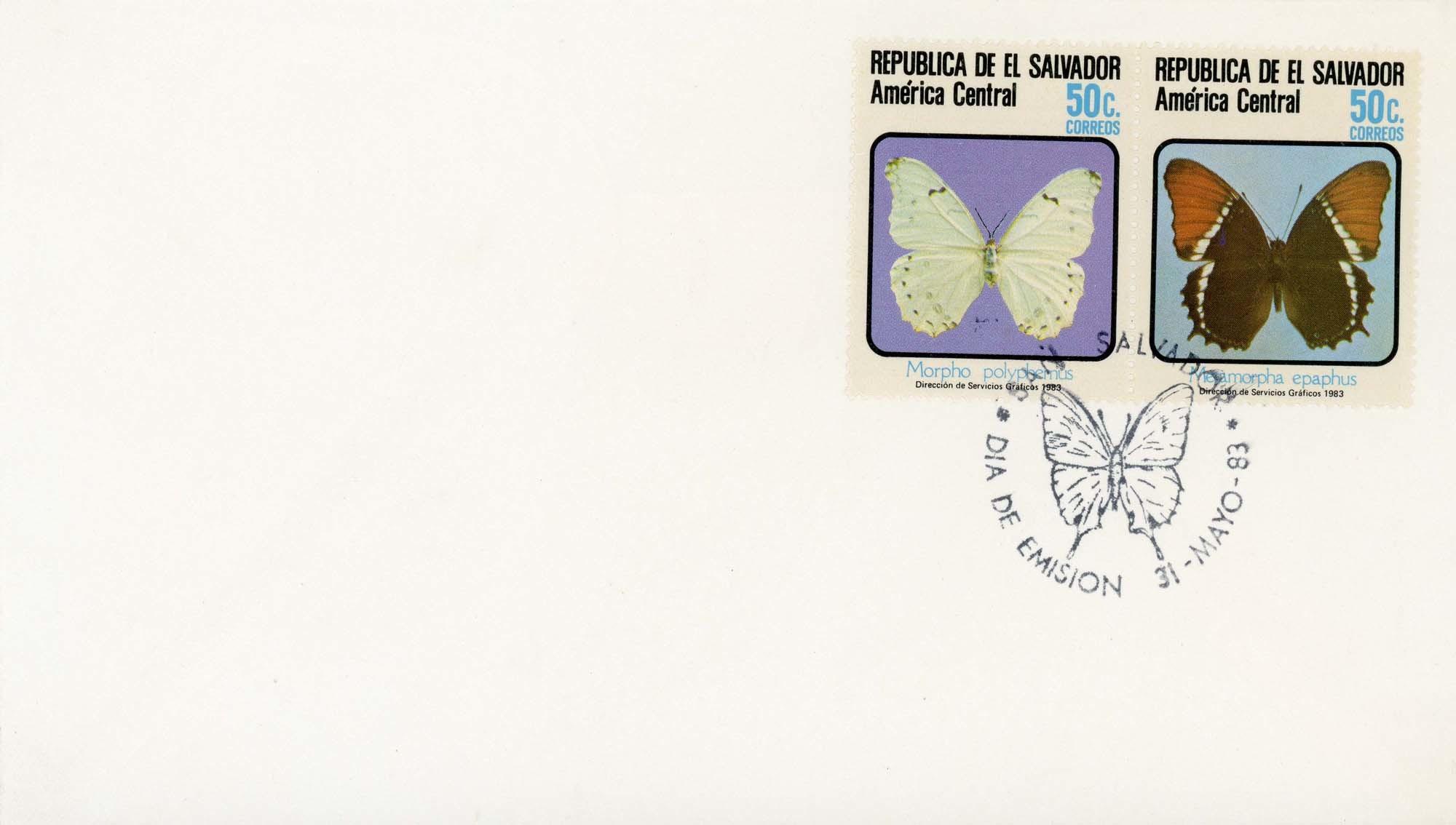 El Salvador:1983FDC-5