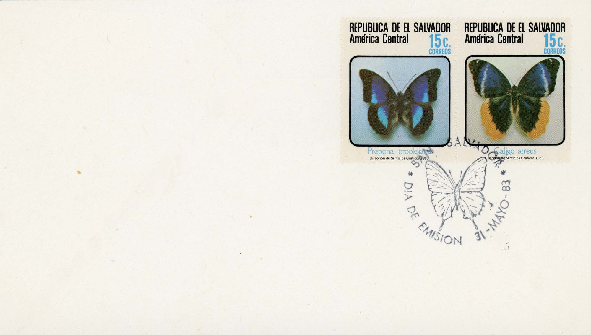 El Salvador:1983FDC-3