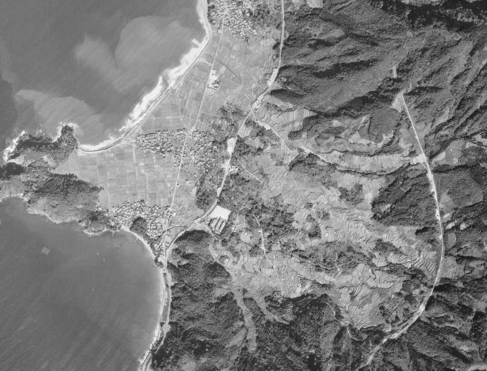 2019-8-24杉津航空写真1971-10-25