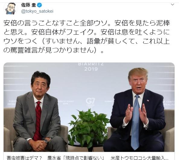 2019-8-31東京新聞佐藤圭2