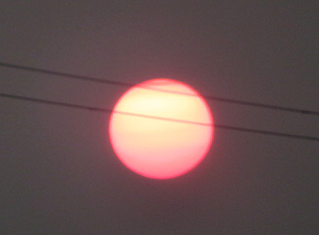 0803朝五時の太陽