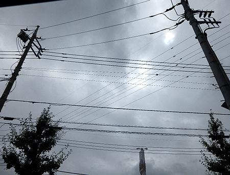 0816台風の影響