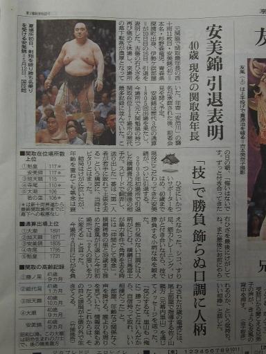 20190722・大相撲15・安美錦引退・中