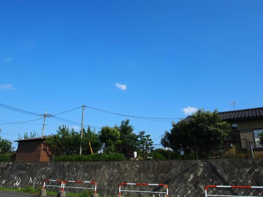 20190804・青い空白い雲15・南側