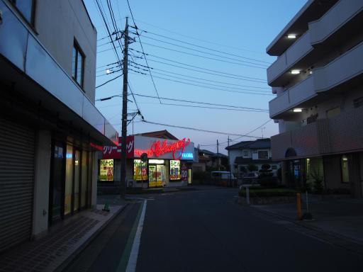 20190812・西武園花火最終日1-13・下山口駅越えて右折