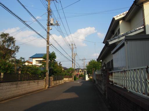 20190825・埼玉県選挙の日空6・まもなく我が家の駐車場