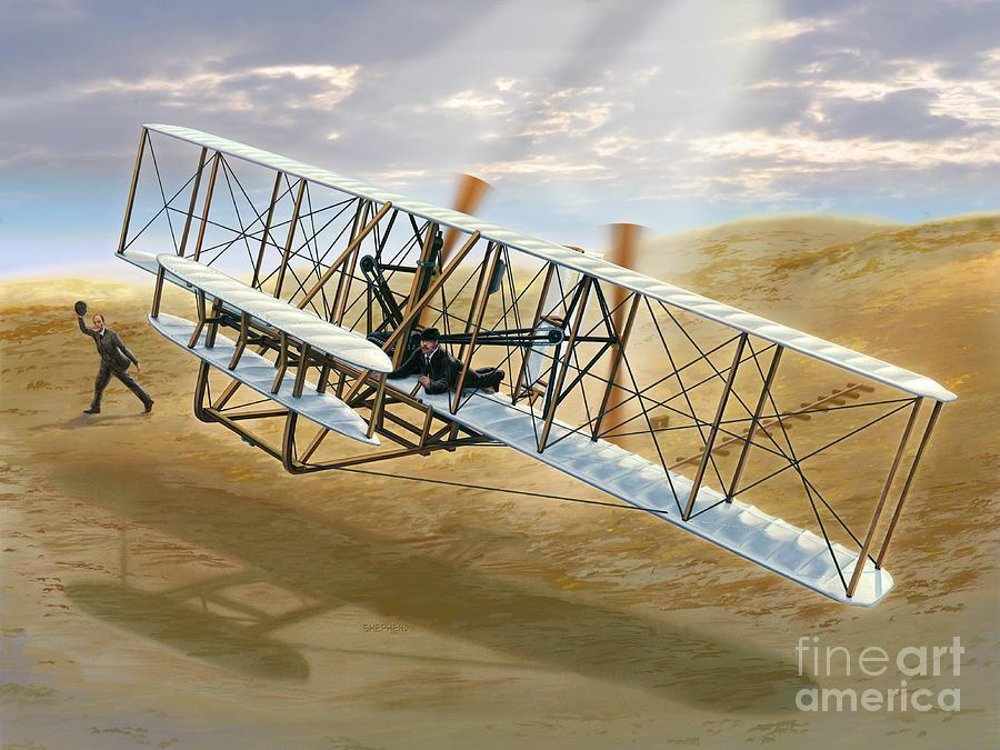 first-flight-the-wright-flyer-at-kittyhawk-stu-shepherd.jpg