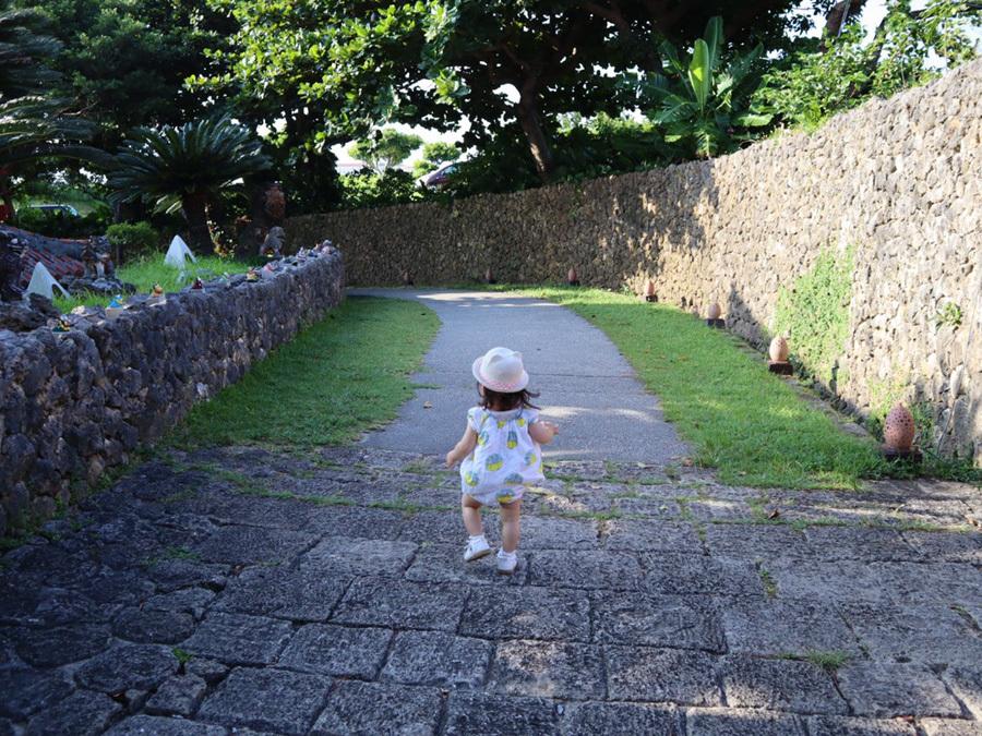 姪っ子ちゃん 沖縄1