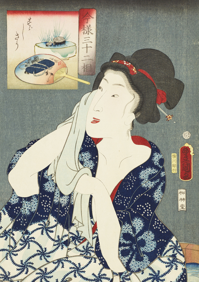 190701_歌川国貞(三代豊国)「今様三十二相 すゞしさう」