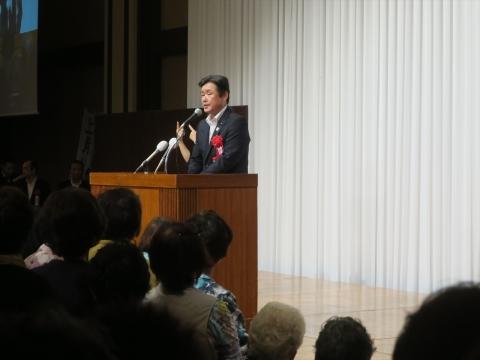 「上月良祐」参議院議員選挙候補 出陣式⑭_R