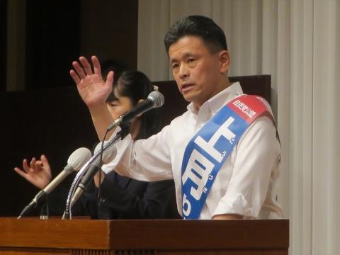 「上月良祐」参議院議員選挙候補 出陣式⑮_R