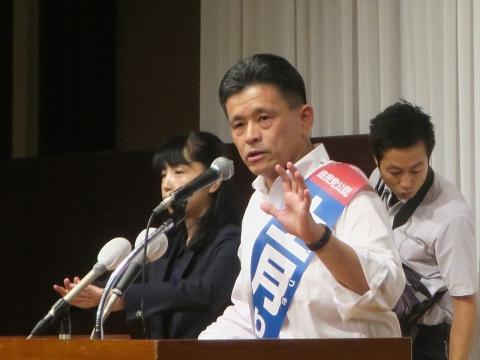 「上月良祐」参議院議員選挙候補 出陣式⑯_R