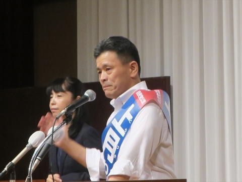 「上月良祐」参議院議員選挙候補 出陣式⑱_R