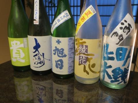 令和1年7月30日「夏季限定の日本酒」