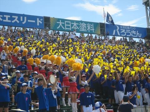 「霞ヶ浦高校甲子園出場応援」阪神甲子園球場⑤_R