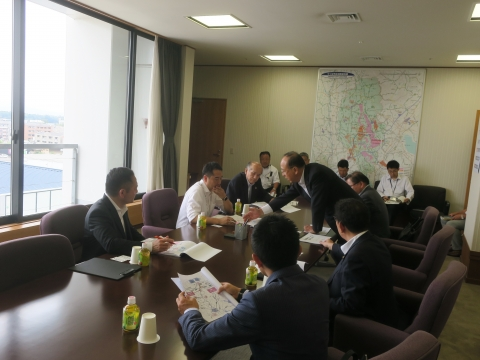 「道祖神峠トンネル化土浦市長・議長、つくば市長・議長協力依頼」⑦
