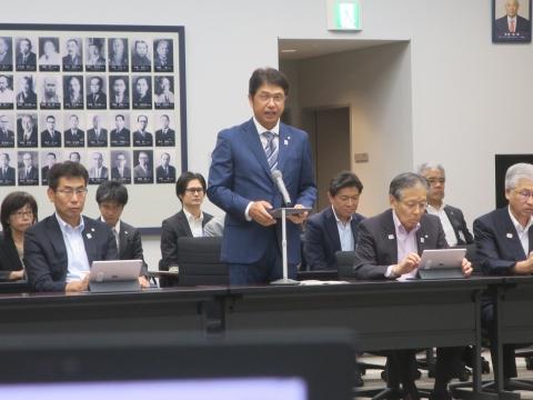 「令和元年第3回定例会内示会&政務調査会」①