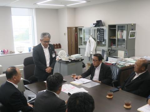 「道祖神峠トンネル整備促進期成同盟」土木部長・営業戦略部長要望⑧