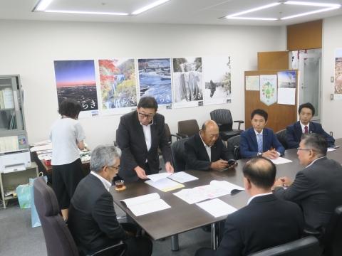 「道祖神峠トンネル整備促進期成同盟」土木部長・営業戦略部長要望⑨