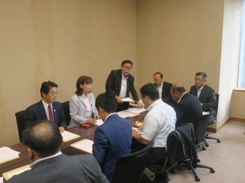 「道祖神峠トンネル整備促進期成同盟」土木部長・営業戦略部長要望⑩