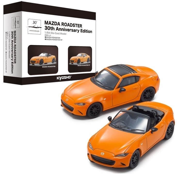 【発売情報】京商 1/64 MAZDA ROADSTER 30th Anniversary Edition