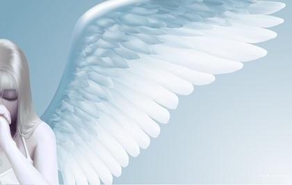 祈り 天使