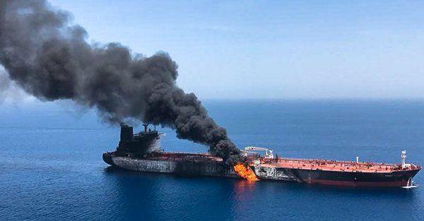 イランのタンカー攻撃