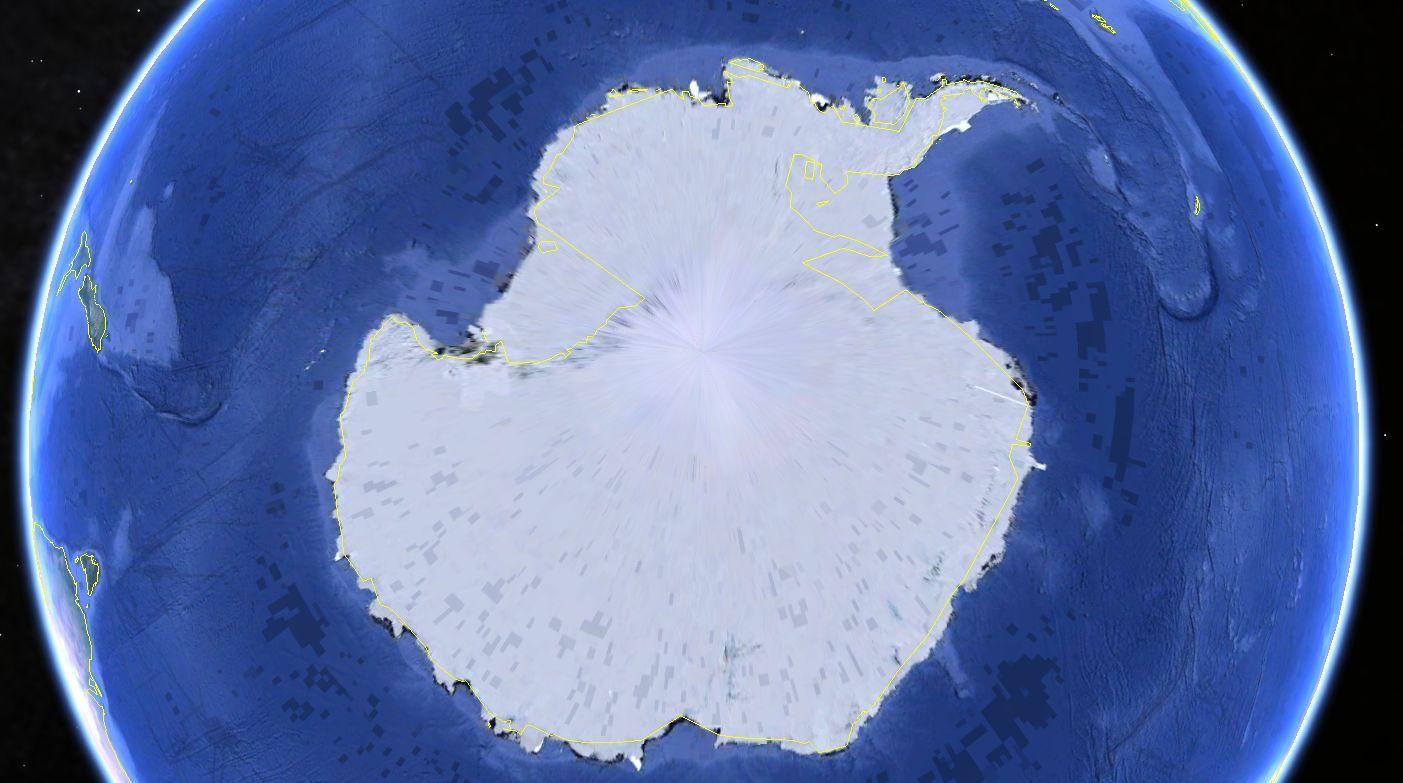 宇宙艦隊南極全景