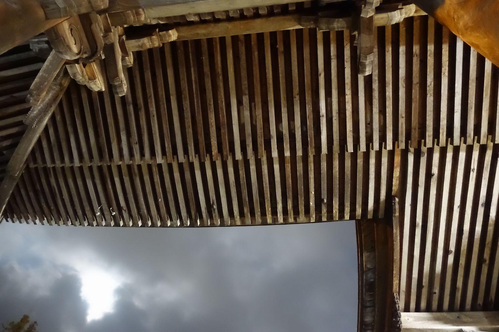 安養寺の天井