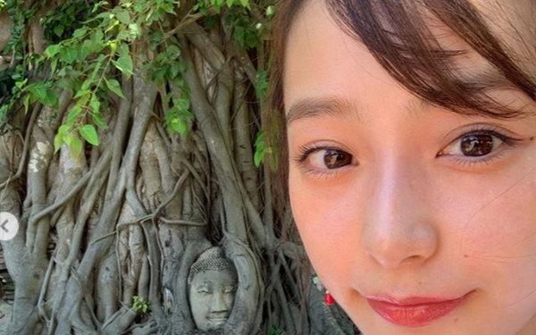 宇垣美里 タイ 仏像