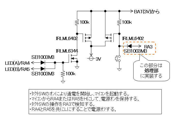 RF+IRチェッカーの製作回路図表示部2