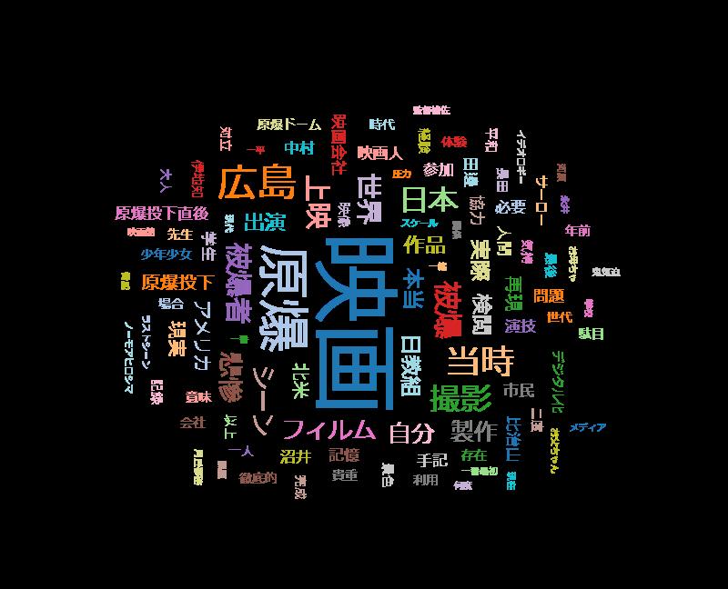 """ETV特集「忘れられた""""ひろしま""""~8万8千人が演じた""""あの日""""~」"""