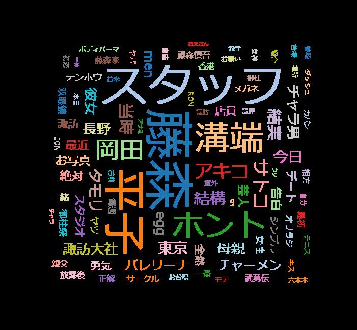 誰だって波瀾爆笑 ゲスト:藤森慎吾(オリエンタルラジオ)