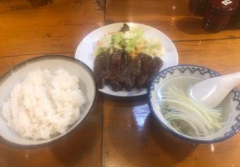 仙台_味の牛たん喜助一番町店_牛タン定食